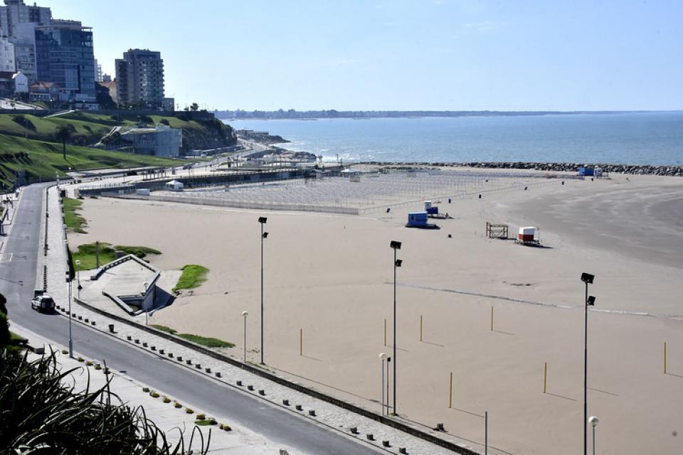 Mar del Plata en cuarentena: la ciudad sumó su segundo muerte por Covid-19.