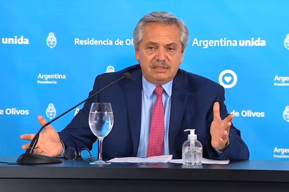 Coronavirus: Alberto Fernández anunció que sigue la cuarentena hasta el 13 de abril