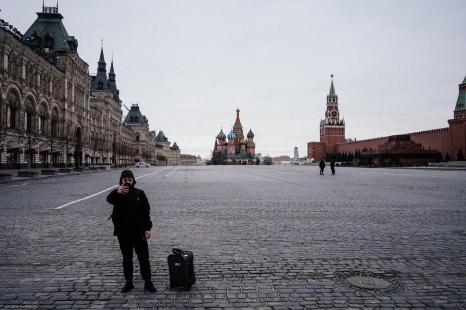 Coronavirus: Moscú entró en cuarentena obligatoria