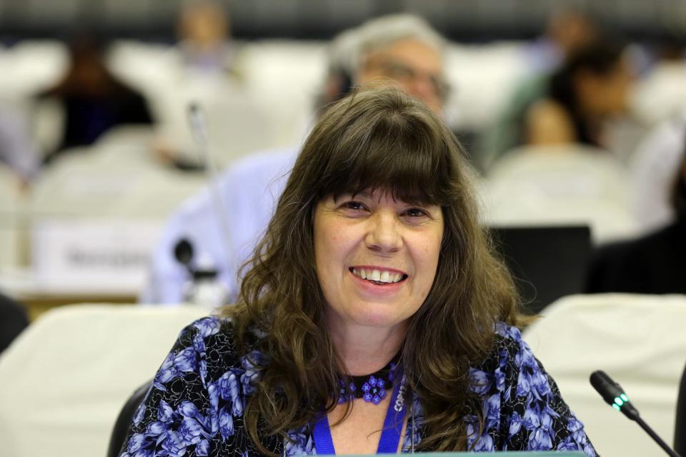 Silvia Ribeiro en la cumbre sobre cambio climático