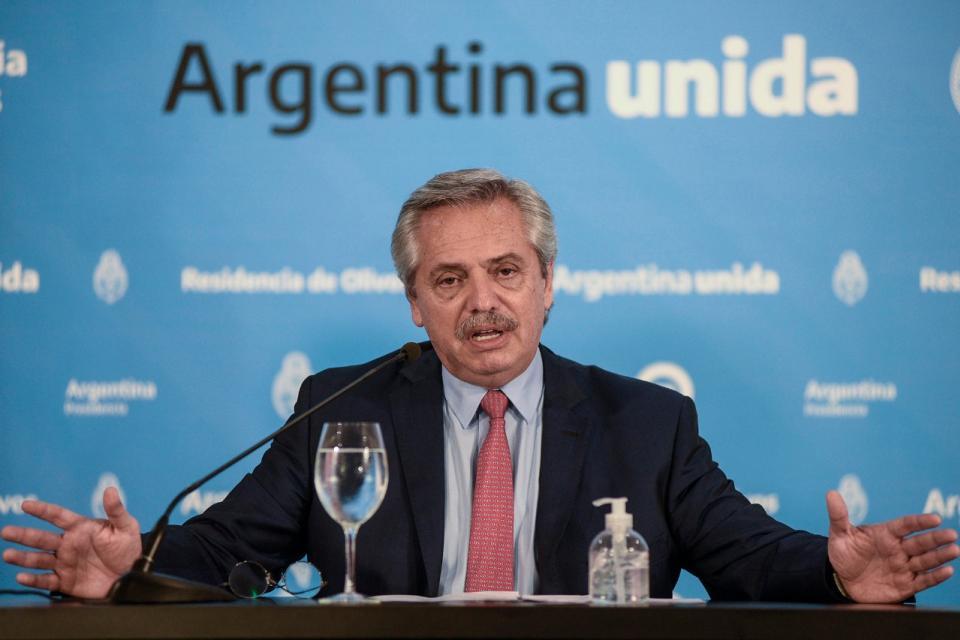 Alberto Fernández. Un amplio programa de contención al empleo de las pymes