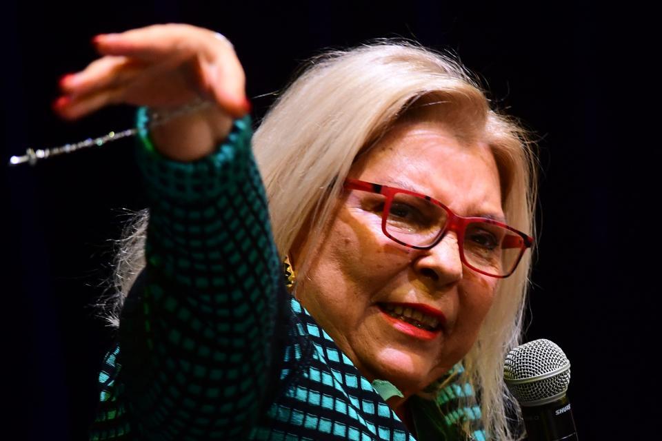 Elisa Carrió rechazó la confrontación que proponen Bullrich y Macri.