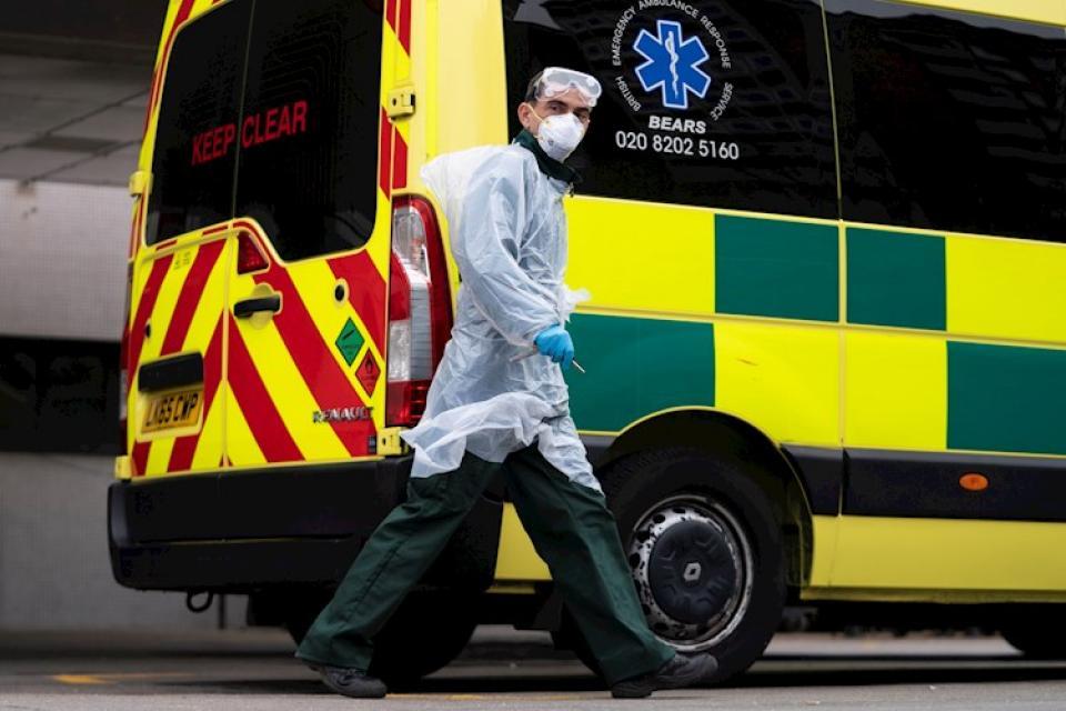 El Reino Unido tuvo su peor día desde el comienzo de la pandemia