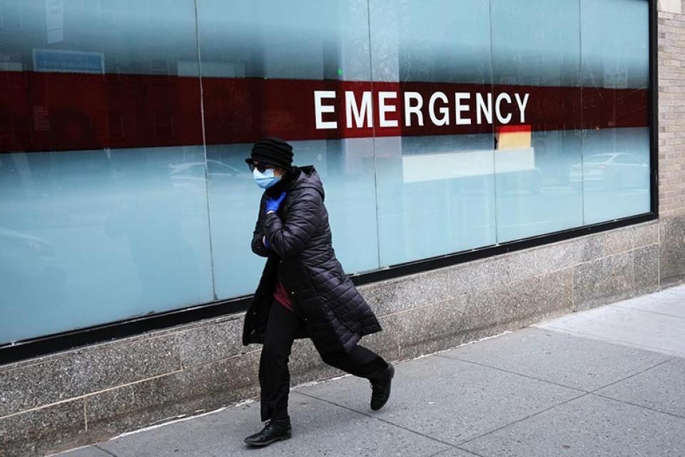 Estados Unidos superó los 200 mil contagios de coronavirus