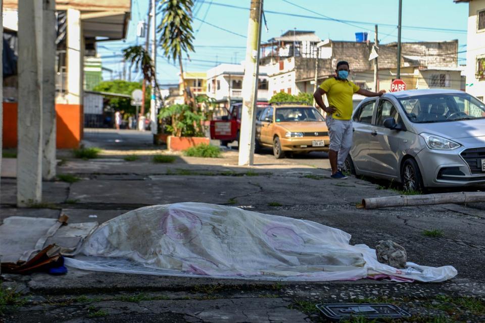 Coronavirus: Ecuador esconde sus muertos