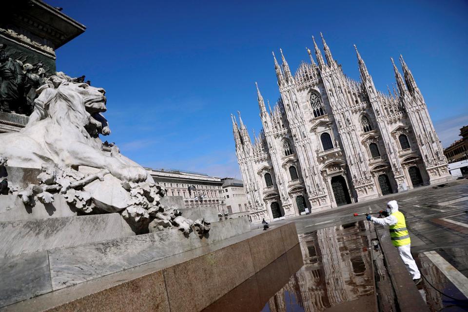 Coronavirus: Italia registró la cifra más baja de muertos en dos semanas