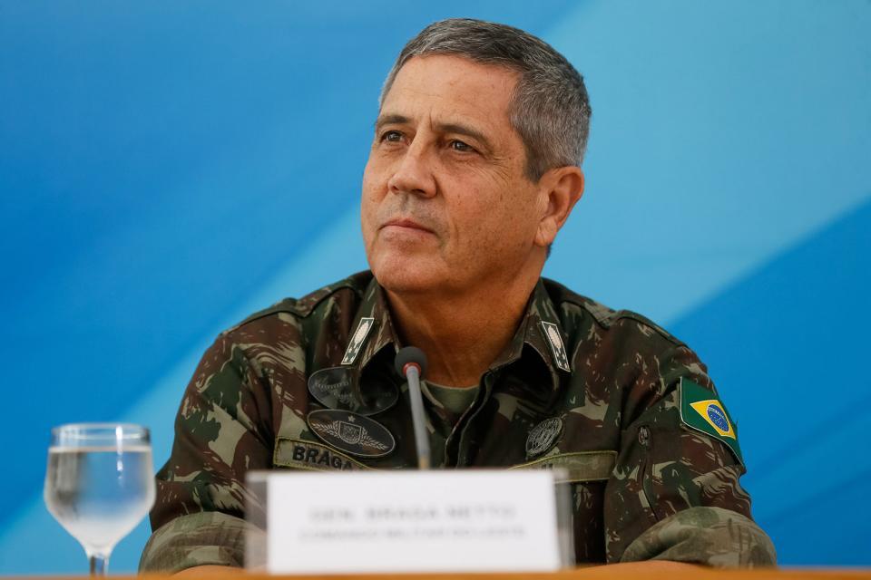 Walter Souza Braga Netto al frente de la Casa Civil.