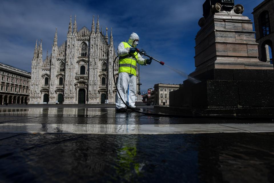En Lombardía, la guerra contra el coronavirus no ha terminado