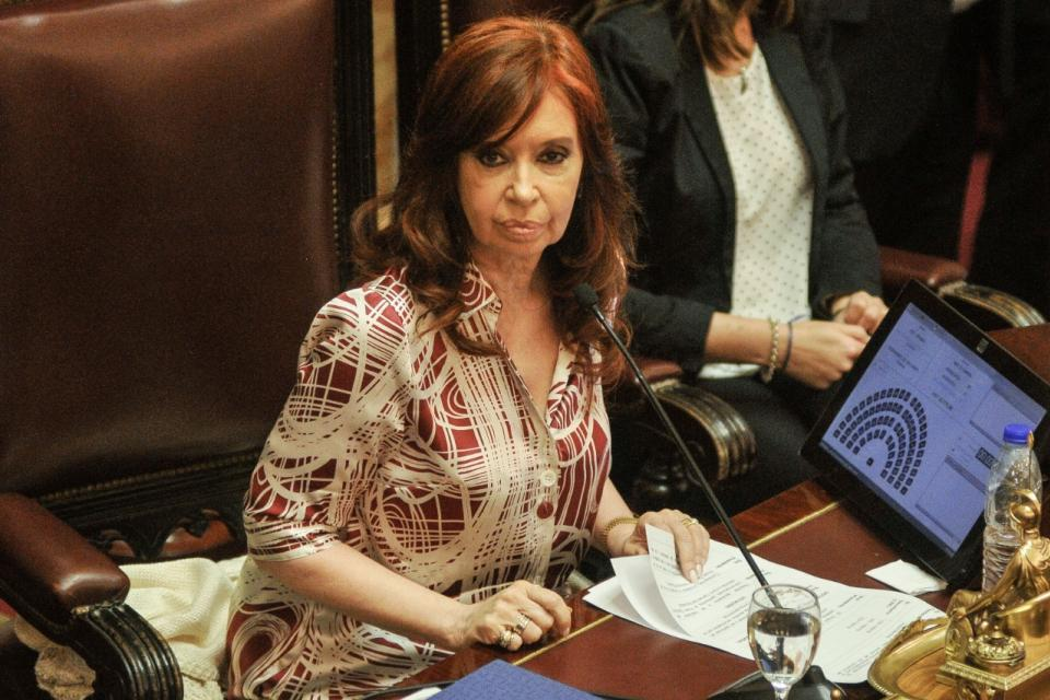 Cristina Kirchner le pidió a la Corte que definia si es constitucional sesionar de manera remota.
