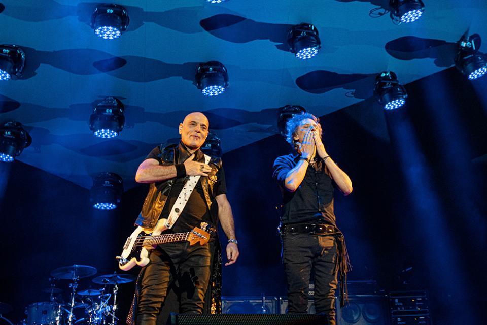 Bosio y Alberti empezaron su gira en Bogotá el 29 de febrero.