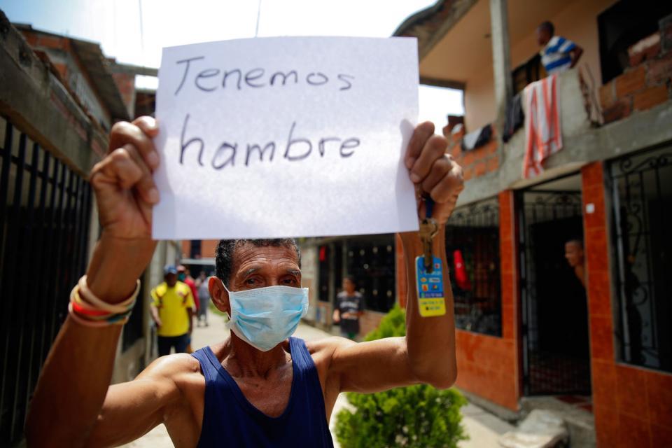 Coronavirus en Colombia: saqueos y protestas en var... | Página12