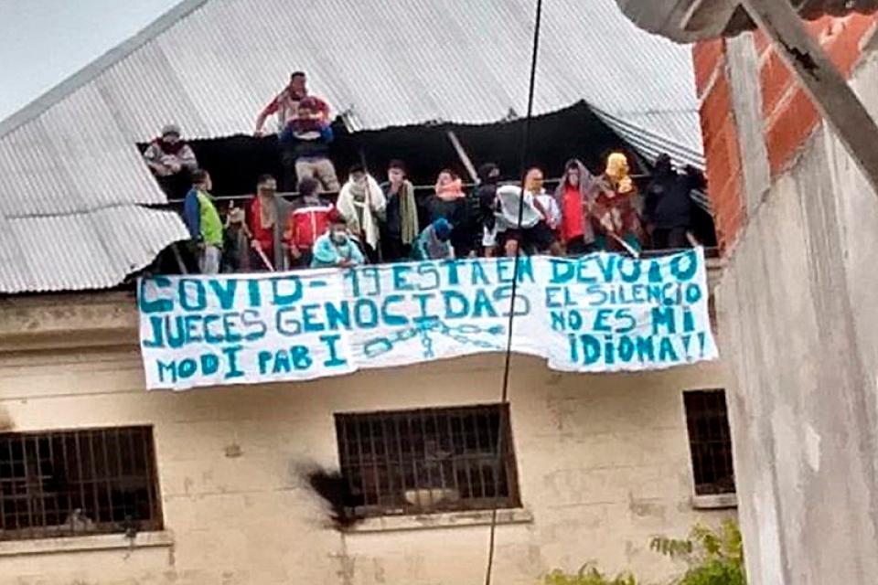 Protesta en la cárcel de Devoto: comenzó porque un ... | Página12