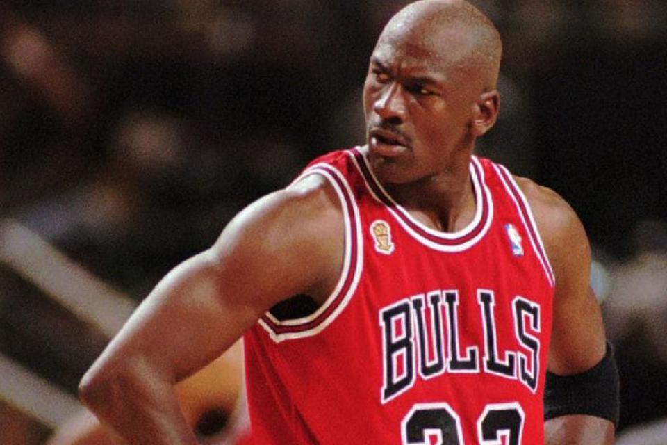 Jordan, en su última temporada en los Bulls.