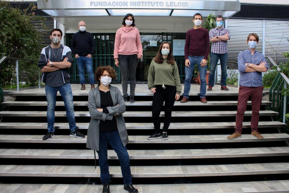 """El equipo de científicos que trabajó en el desarrollo del""""CovidAr IgG"""""""