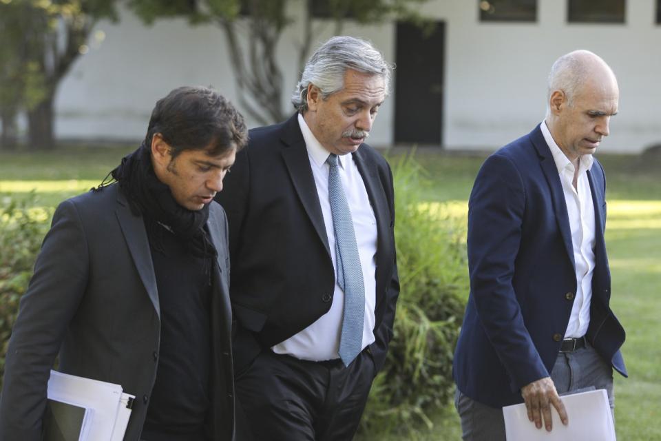 Alberto Fernández realizará el anuncio junto a Axel Kicillof y a Horacio Rodríguez Larreta.