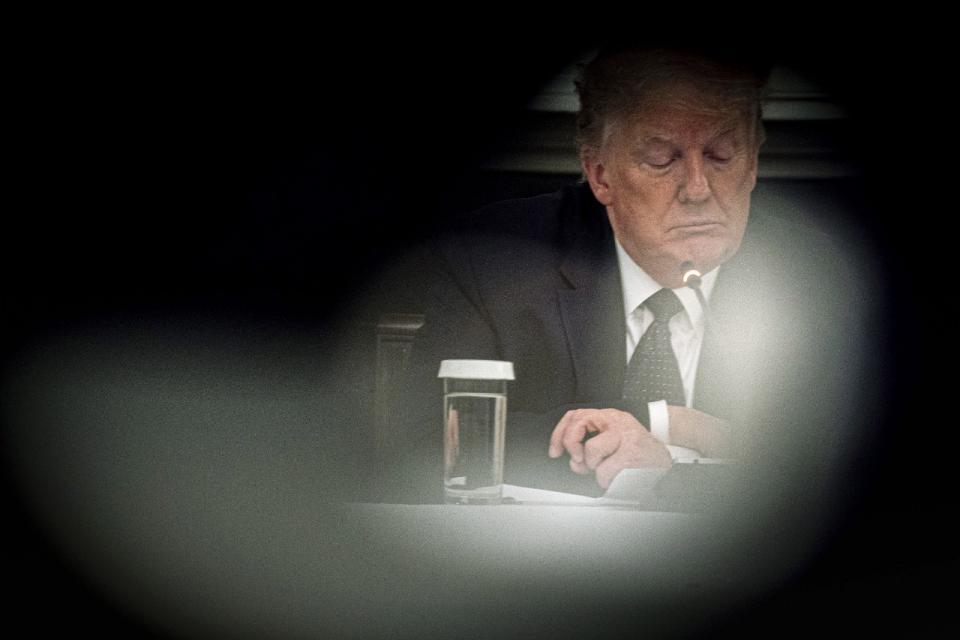 Trump dice que está tomando hidroxicloroquina
