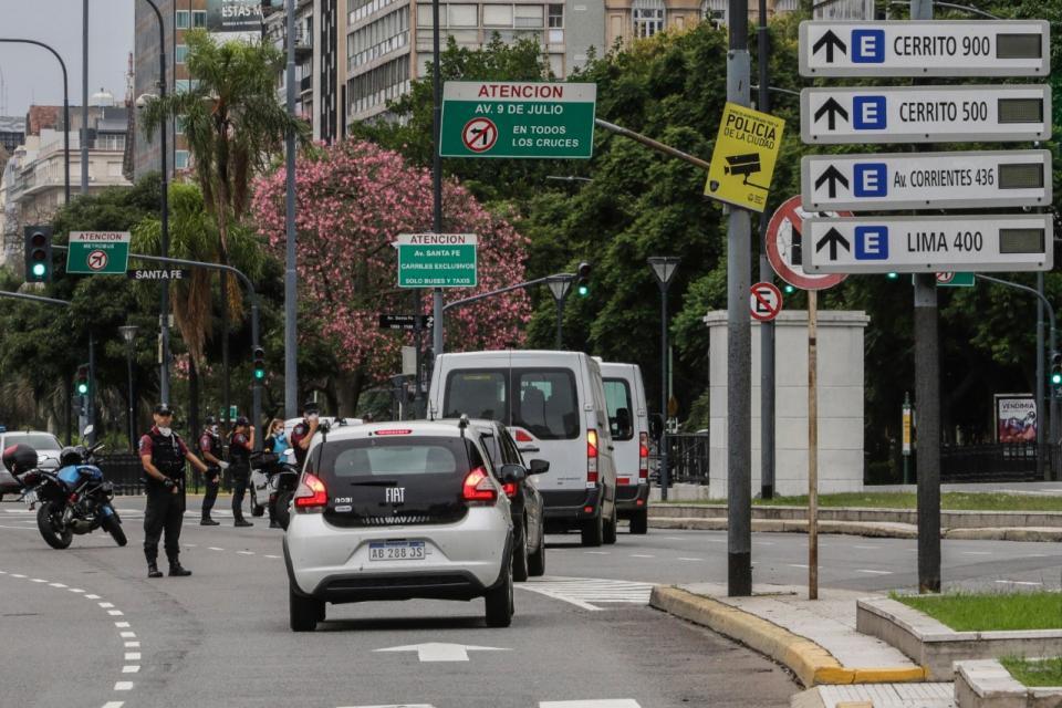Circulación más restringida entre la ciudad y la provincia
