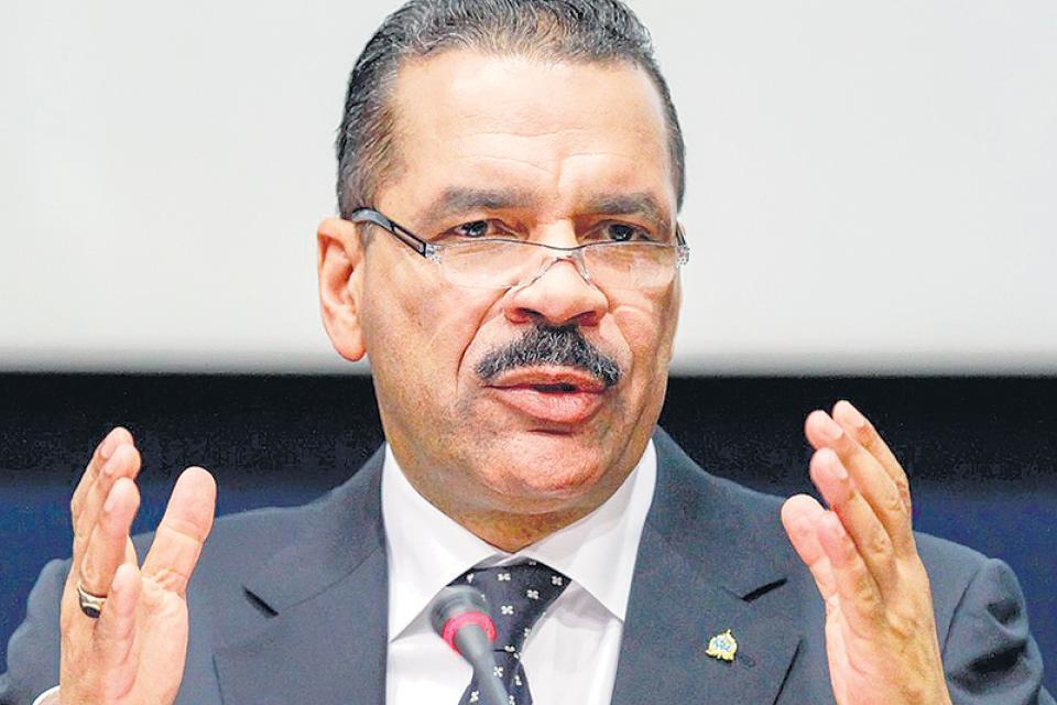 Ronald Noble, ex titular de Interpol.