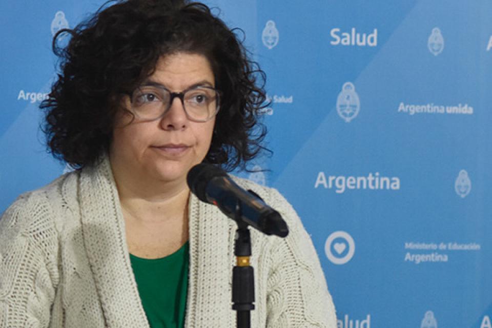 Carla Vizotti,subsecretaria de Acceso a la Salud.