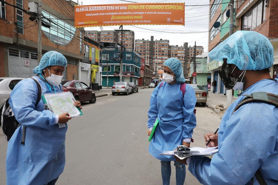 Colombia superó los 20 mil casos de coronavirus