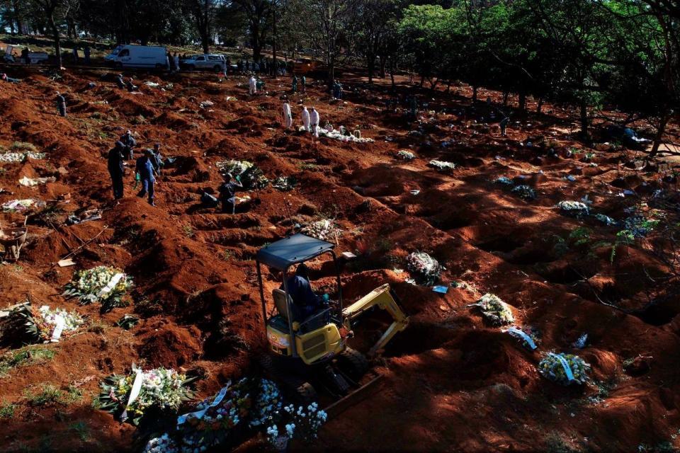 Coronavirus en Brasil: ya es el país con más muertes diarias