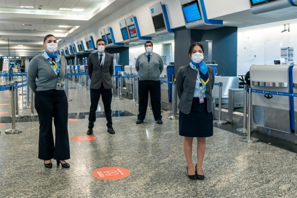 Coronavirus: Aerolíneas Argentinas anunció su protocolo para cuando regresen las operaciones