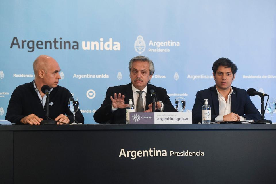 El presidente Alberto Fernández definirá cerca del fin de semana cómo sigue en el país el aislamiento social, preventivo y obligatorio que decretó por la pandemia de coronavirus.