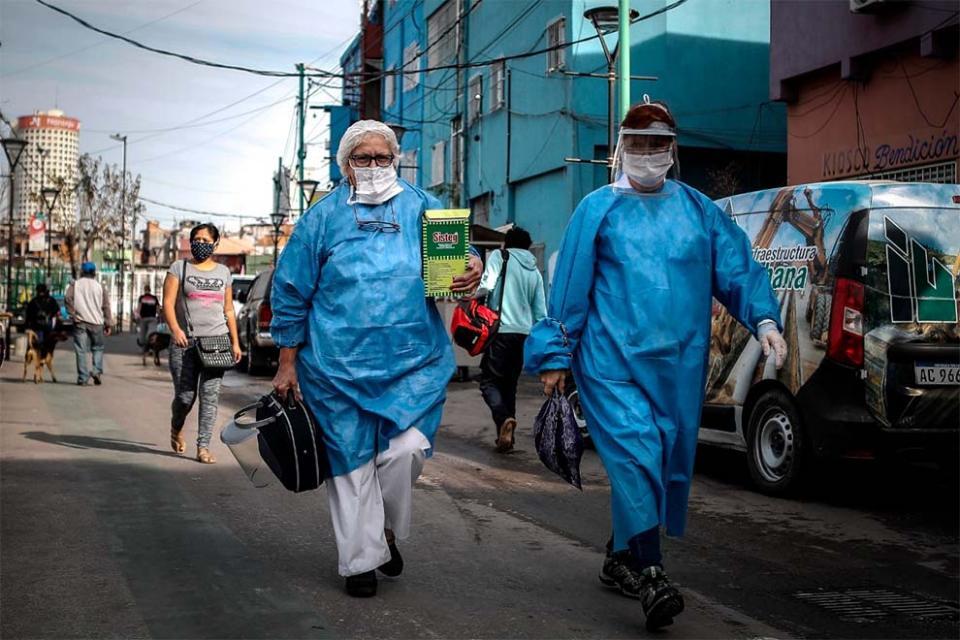 Coronavirus: se registraron 564 nuevos contagios