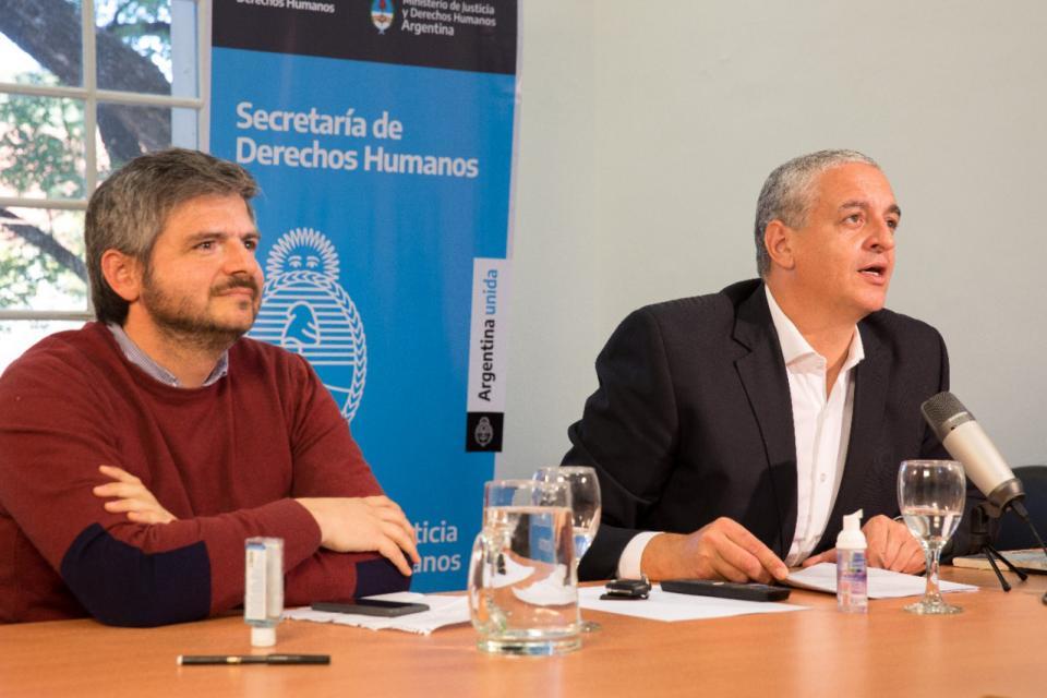 Reunión de la Secretaría de Derechos Humanos con organismos
