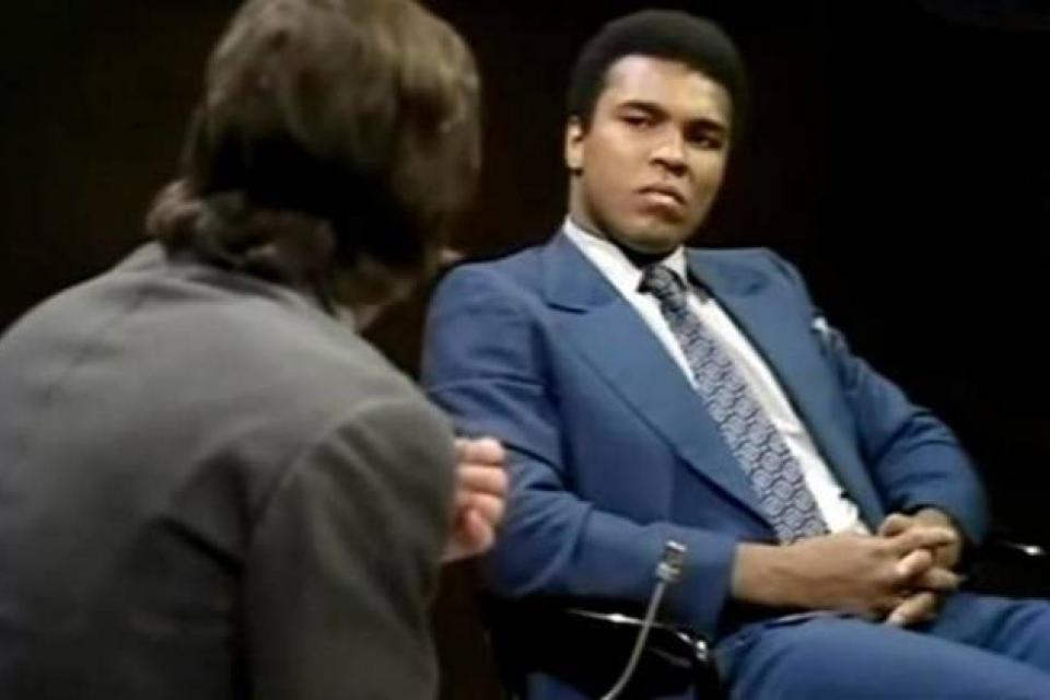 Ali, entrevistado por Michael Parkinson en 1971.