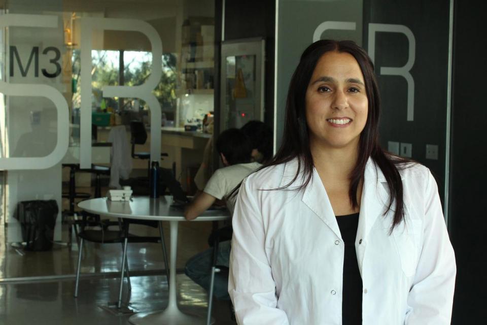 Juliana Cassataro dirige el equipo que trabaja con proteínas recombinantes.