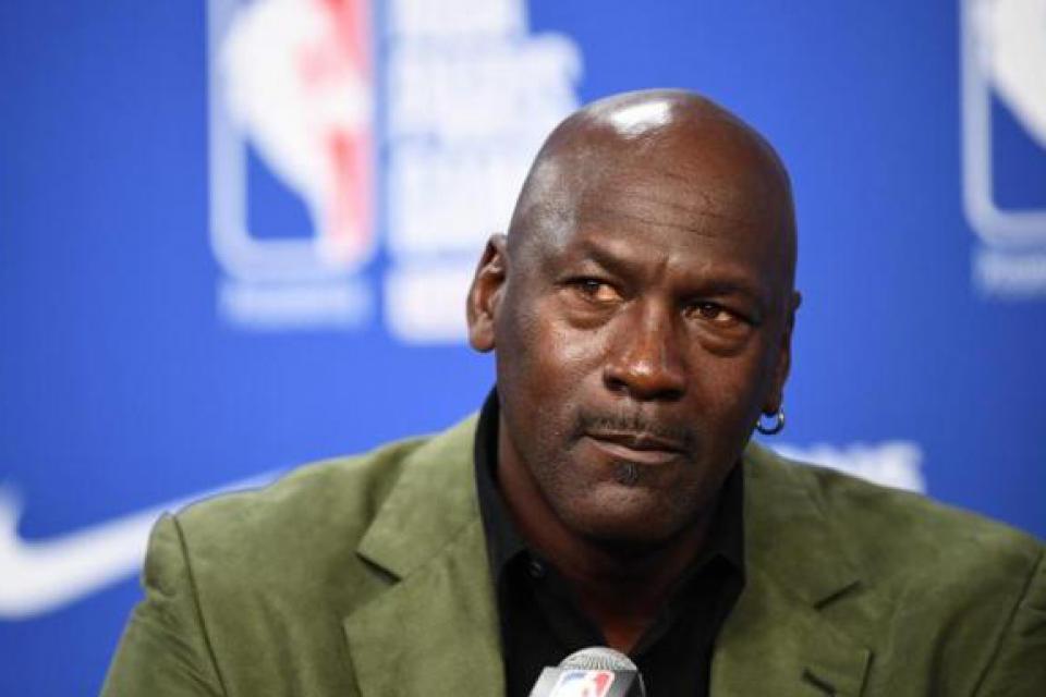 Michael Jordan, seis veces campeón de la NBA con Chicago Bulls.