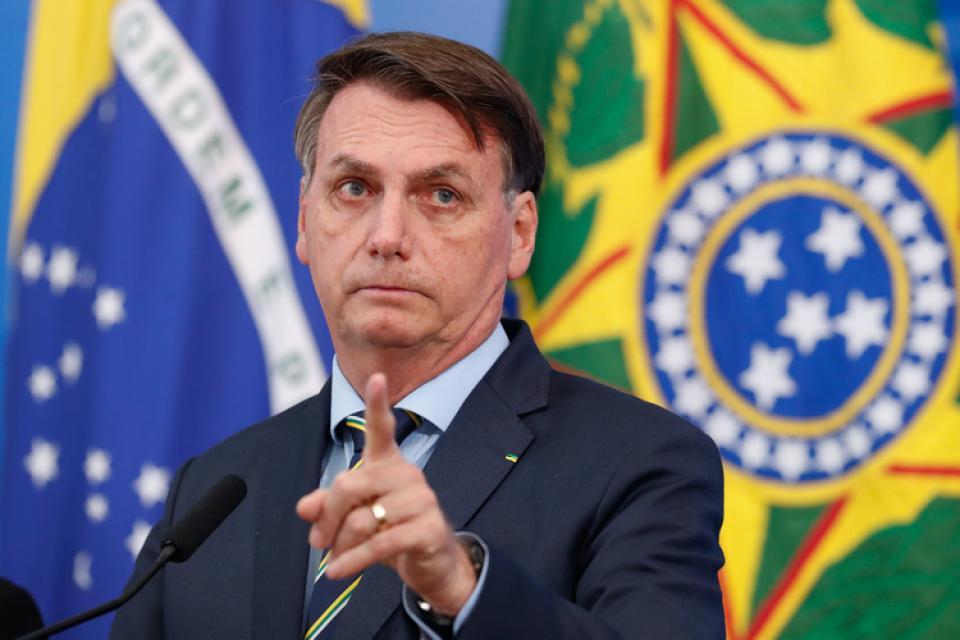 Bolsonaro volvió a reafirmar su alianza con los militares.