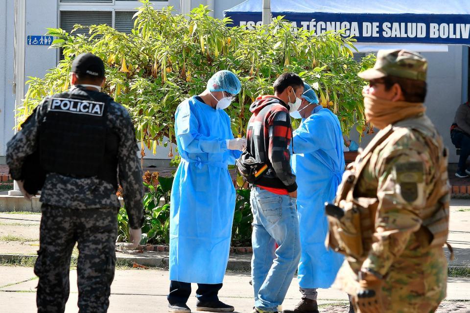 Bolivia registra 18.500 casos positivos de Covid-19 y 611 muertos.