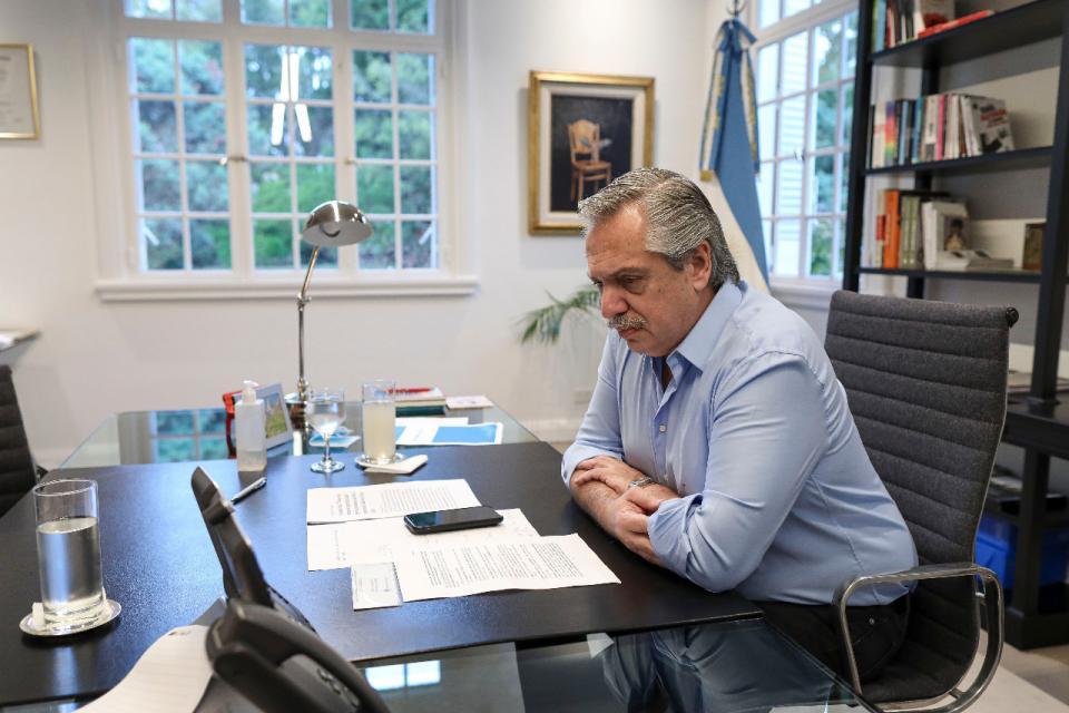 El presidente, Alberto Fernández, difundió un video del Ministerio de Desarrollo Productivo para mostrar la ayuda que el Estado dio en estos meses y que la economía se está reactivando.