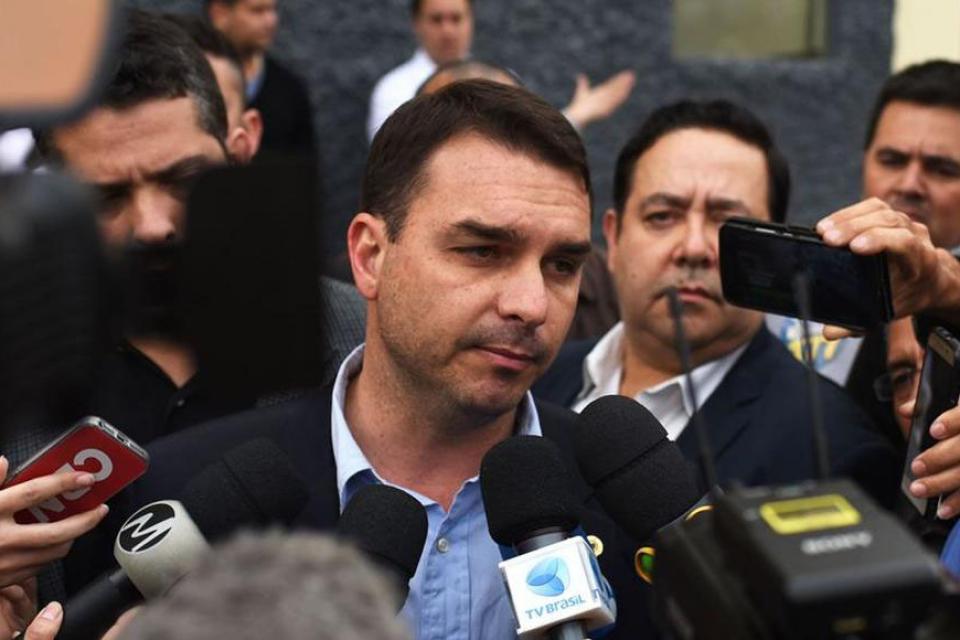 Flavio Bolsonaro, senador e hijo del presidente,