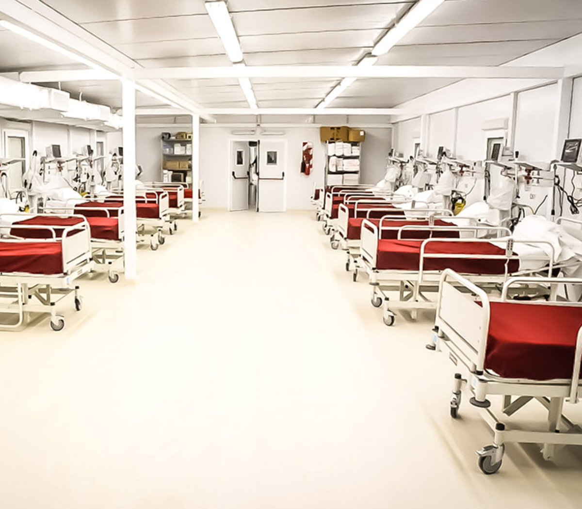 El turno del hospital modular | Las dificultades de... | Página12