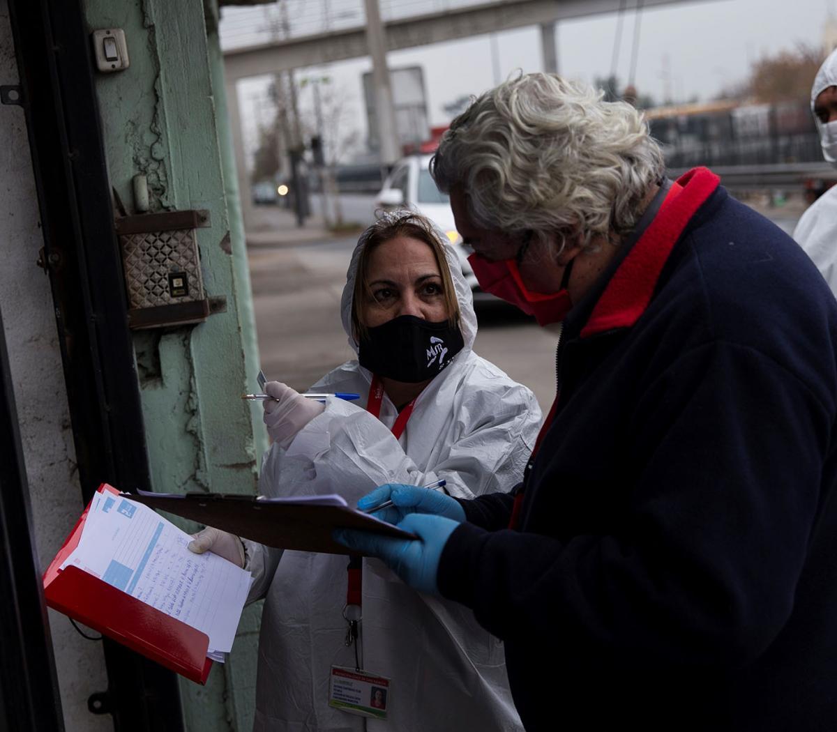 Chile: picos de coronavirus y desempleo | Supera po... | Página12