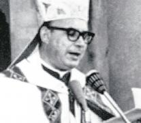 El obispo riojano Enrique Angelelli.