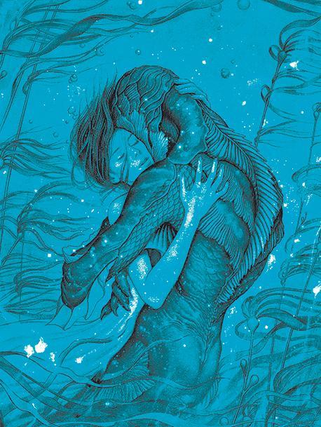 Se estrena la forma del agua, la película de Guillermo Del Toro