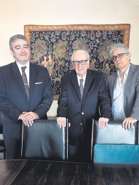 REPORTAJE a Alfredo Eric, Eric (h) y Alfredo (h) Calcagno Reconstruir un nuevo Estado