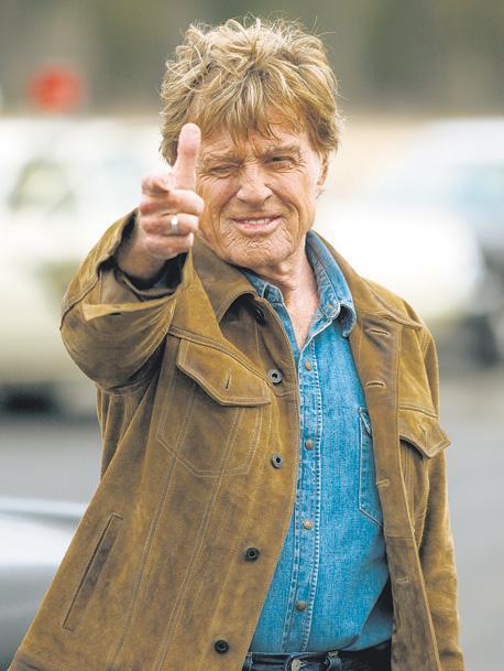 Se estrena Un ladrón con estilo, la película en la que Robert Redford se despide como actor