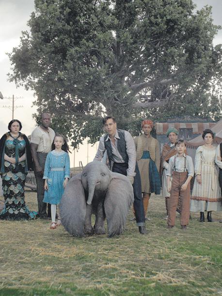 Llega Dumbo de Tim Burton, la fuerte apuesta de Disney para dar batalla en la industria del entretenimiento audiovisual.