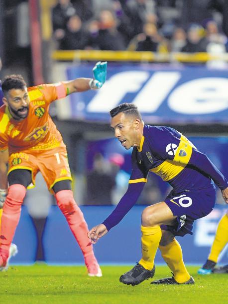 Boca derrotó 2-0 a Aldosivi y sigue en los puestos de vanguardia de la Superliga