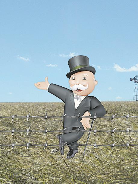 ¿Cuánta tierra rural está en manos de capitales del exterior?