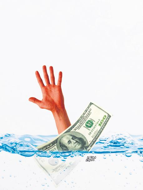 El sobreendeudamiento que impulsa el sistema financiero