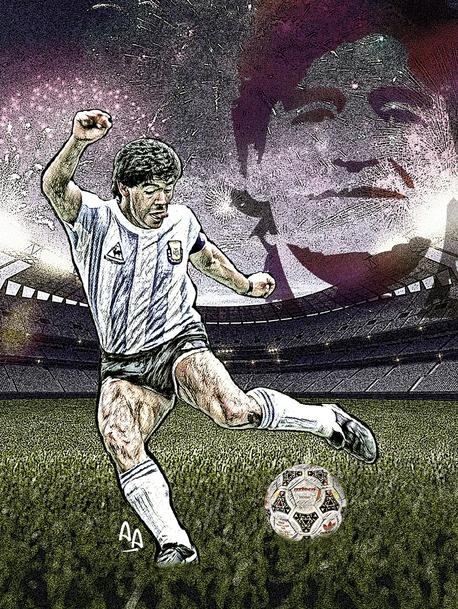 En la semana del cumpleaños de Diego Maradona, 60 hitos, 60 frases y 60 fotos de una vida de película.
