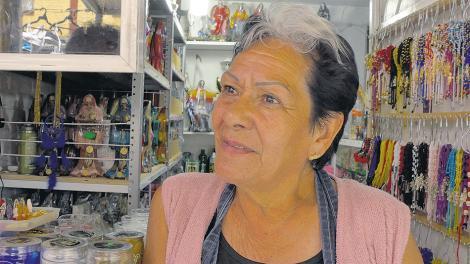 Tepito, morada del altar la Santa Muerte, vota el d