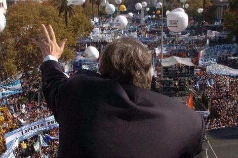 Cristina Kirchner: diez años sin él y a un año del triunfo electoral